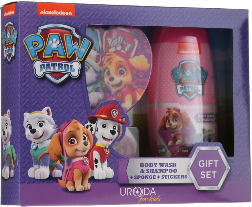 Sada - Uroda Paw Patrol Girl (sh/gel/250ml + sponge + stickers)