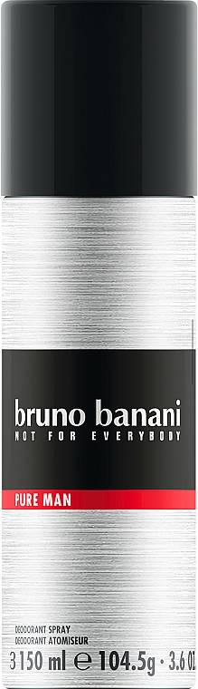 Bruno Banani Pure Man - Deodorant