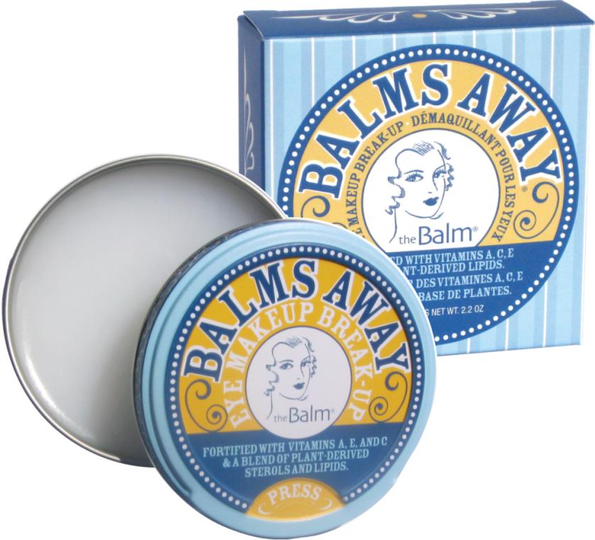 Prostriedok na odstránenie vodeodolného make-upu a falošných mihalníc - TheBalm Balms Away Eye Makeup Break-Up