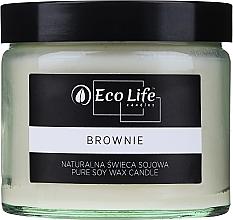 """Voňavky, Parfémy, kozmetika Vonná sviečka """"Brownie"""" - Eco Life Candles"""