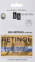 Voňavky, Parfémy, kozmetika Omladzujúca maska na bradu, krk a dekolt - AA Retinol Intensive Bio-Retinol Complex 50+ 60+ 70+ Mask