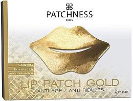 Voňavky, Parfémy, kozmetika Náplasti na pery - Patchness Lip Patch Gold