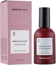 Voňavky, Parfémy, kozmetika Regeneračné sérum pre rozjasnenie, proti vráskam - Thank You Farmer Miracle Age Serum