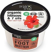 "Voňavky, Parfémy, kozmetika Olej na nohy ""Africký balzam"" - Organic Shop Organic Hibiscus & 7 Oils Foot Butter"