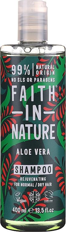 "Šampón pre normálne a suché vlasy ""Aloe Vera"" - Faith In Nature Aloe Vera Shampoo"