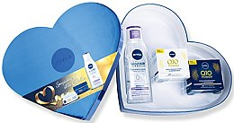 Voňavky, Parfémy, kozmetika Sada - Nivea Q10 Power Set (day/cr/50ml+night/cr/50ml+micel/water/200ml)