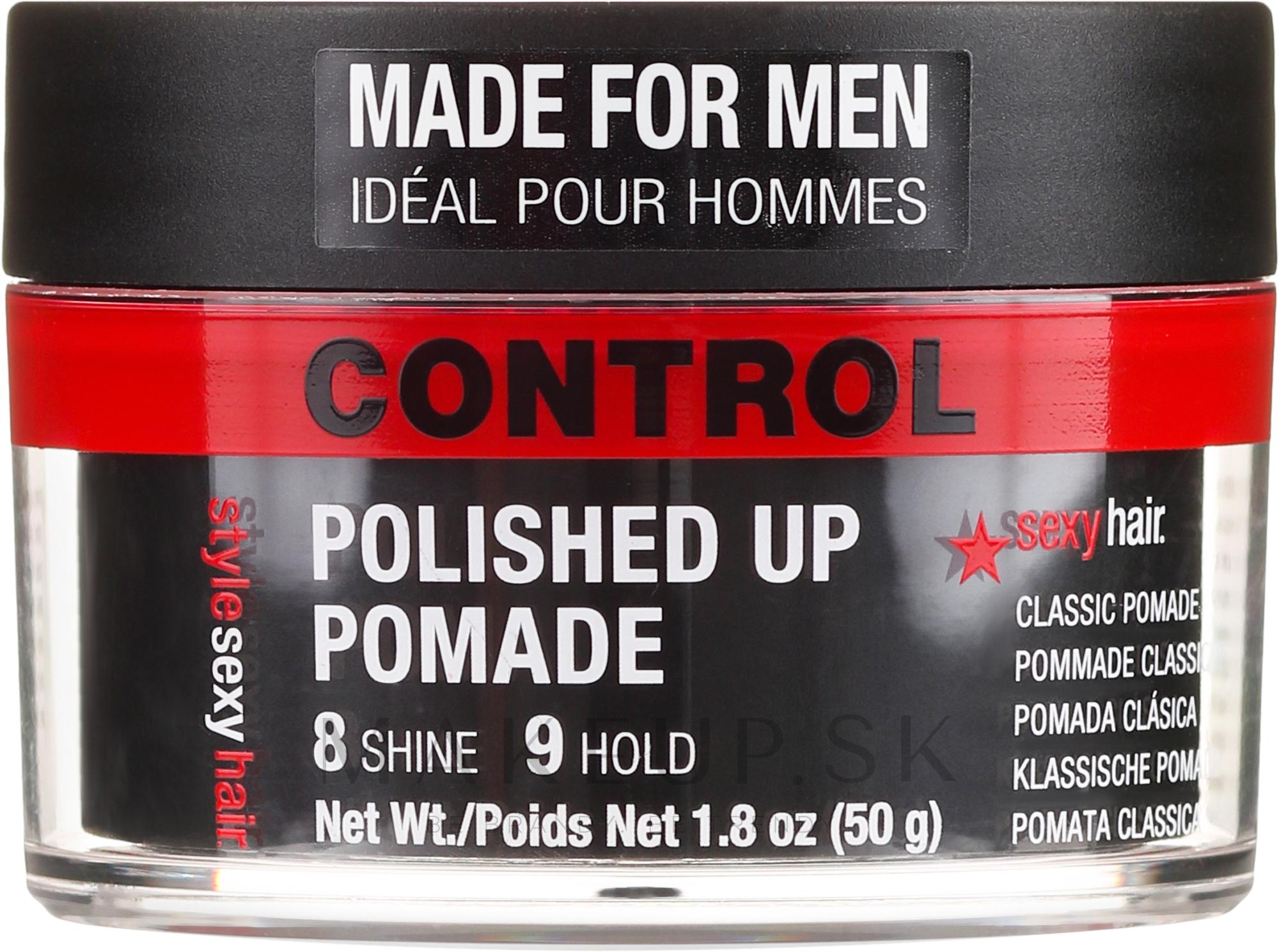 Pomáda na vlasy - SexyHair Polished Up Pomade Classic — Obrázky 50 g