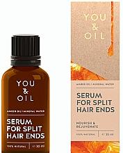Voňavky, Parfémy, kozmetika Sérum na vlasy proti štiepeniu končekov - You & Oil Amber. Serum For Split Hair Ends