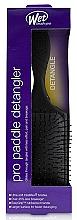 Voňavky, Parfémy, kozmetika Kefa na vlasy, čierna - Wet Brush Pro Paddle Detangler Black
