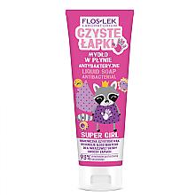 Voňavky, Parfémy, kozmetika Detské antibakteriálne mydlo na ruky - Floslek Super Girl Antibacterial Hand Soap