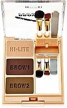 Voňavky, Parfémy, kozmetika Sada púdrov na obočie - Milani Brow Fix Eye Brow Powder