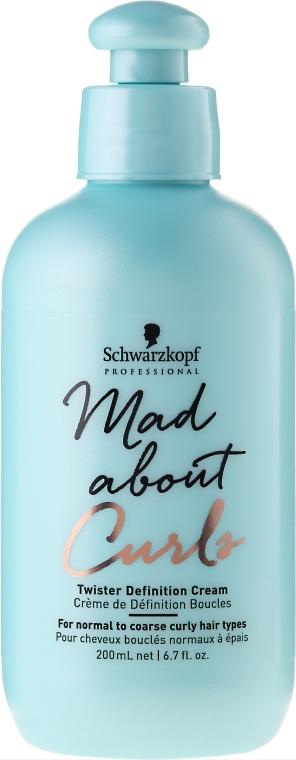 Textúrovaný krém na vlasy - Schwarzkopf Professional Mad About Curls Twister Definition Cream