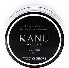 Voňavky, Parfémy, kozmetika Šampón pre normálne vlasy, v kovovej nádobe - Kanu Nature Shampoo Bar Toxic Glamour For Normal Hair