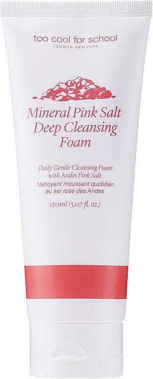 Čistiaca pena - Too Cool For School Mineral Pink Salt Deep Cleansing Foam — Obrázky N1
