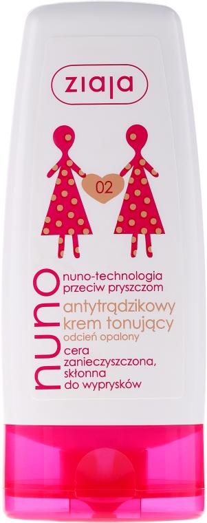 Krém tónovaci proti akné, béžový - Ziaja Cream Toning Acne — Obrázky N1