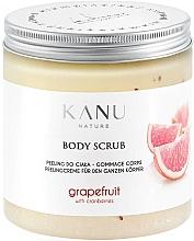 """Voňavky, Parfémy, kozmetika Scrub na telo """"Grapefruit"""" - Kanu Nature Grapefruit With Cranberry Body Scrub"""