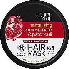"""Voňavky, Parfémy, kozmetika Maska na vlasy """"Granátové jablko a pačuli"""" - Organic Shop Mask Pomegranate and Patchouli"""