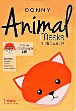 """Voňavky, Parfémy, kozmetika Maska na tvár """"Líška"""" - Conny Animal Essence Mask"""