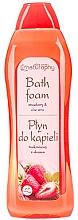 """Voňavky, Parfémy, kozmetika Pena do kúpeľa """"Jahoda a aloe"""" - Bluxcosmetics Naturaphy Strawberry & Aloe Vera Bath Foam"""