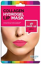 Voňavky, Parfémy, kozmetika Kolagénová hydrogélová maska na pery - Beauty Face 3D Push-Up Collagen Hydrogel Lip Mask
