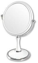 Voňavky, Parfémy, kozmetika Kozmetické zrkadlo obojstranné, 85642, biele - Top Choice