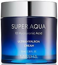 Voňavky, Parfémy, kozmetika Hydratačný pleťový krém - Missha Super Aqua Ultra Hyalron Cream