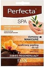 Voňavky, Parfémy, kozmetika Regeneračná maska-sérum na ruky - Perfecta Spa Hand Peeling