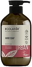 "Voňavky, Parfémy, kozmetika Tekuté mydlo na ruky ""Bobule Acai a Tangerine"" - Ecolatier Urban Liquid Soap"