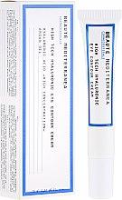 Voňavky, Parfémy, kozmetika Očný kontúrový krém s kyselinou hyalurónovou - Beaute Mediterranea High Tech Hyaluronic Eye Contour Cream