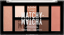Voňavky, Parfémy, kozmetika Paleta na líčenie - NYX Professional Makeup Matchy Matchy Palette