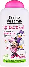 """Voňavky, Parfémy, kozmetika Šampón a sprchový gél 2 v 1 """"Minni"""" - Corine de Farme Disney Minnie Mouse"""