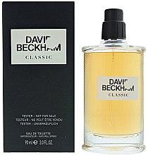 Voňavky, Parfémy, kozmetika David Beckham Classic - Toaletná voda (tester s uzáverom)