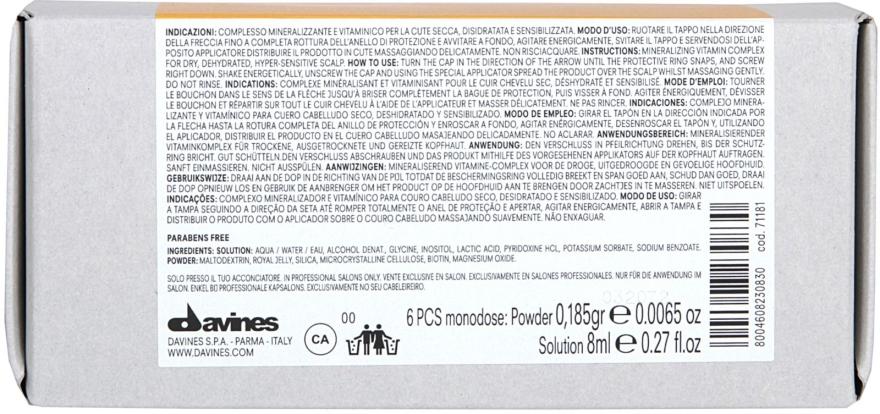 Kráľovské želé na vlasy - Davines Hourishing 1+RJHP+2 — Obrázky N3