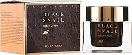 Voňavky, Parfémy, kozmetika Krém na tvár regeneračný s mucínom čierneho slimáka - Holika Holika Prime Youth Black Snail Repair Cream
