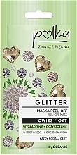 Voňavky, Parfémy, kozmetika Vyhladzujúca a čistiaca maska s ovsom - Polka Glitter Peel Off Mask Oat