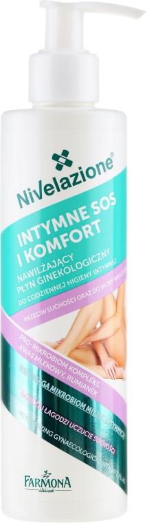 Fluid pre intímnu hygienu - Farmona Nivelazione Moisturizing Gynaecological Intimate Fluid