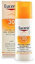 Voňavky, Parfémy, kozmetika Opaľovací gél pre mastnú a akné citlivú pokožku - Eucerin Sun Gel-Cream Oil Control SPF30