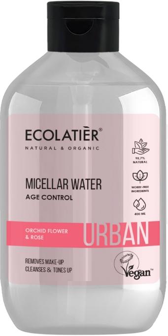 "Odličovacia micelárna voda ""Kvet orchidey a ruža"" - Ecolatier Urban Micellar Water Age Control"