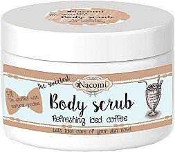 Voňavky, Parfémy, kozmetika Telový peeling s bambuckým maslom a kávou - Nacomi Natural Body Scrub Refreshing Iced Cofee