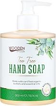 """Voňavky, Parfémy, kozmetika Tekuté mydlo """"Čajový strom"""" - Wooden Spoon Tea Tree Hand Soap"""