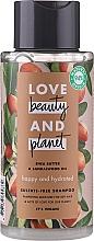 """Voňavky, Parfémy, kozmetika Šampón na vlasy """"Šťastie a hydratácia"""" - Love Beauty&Planet Shea Butter & Sandalwood"""