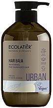 """Voňavky, Parfémy, kozmetika Regeneraťčný balzam na poškodené vlasy """"Argan a biely jazmín"""" - Ecolatier Urban Hair Balm"""
