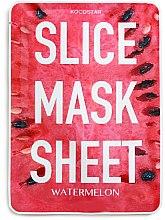 """Voňavky, Parfémy, kozmetika Plátková maska na tvár """"Melón"""" - Kocostar Slice Mask Sheet Watermelon"""
