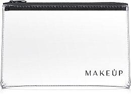 """Voňavky, Parfémy, kozmetika Kozmetická taška priehľadná """"Flat Glow"""" 26x16 cm - MakeUp"""