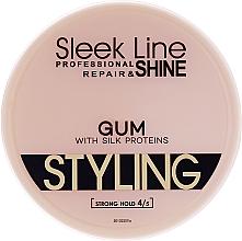 Voňavky, Parfémy, kozmetika Gél na vlasy - Stapiz Sleek Line Styling Gum With Silk