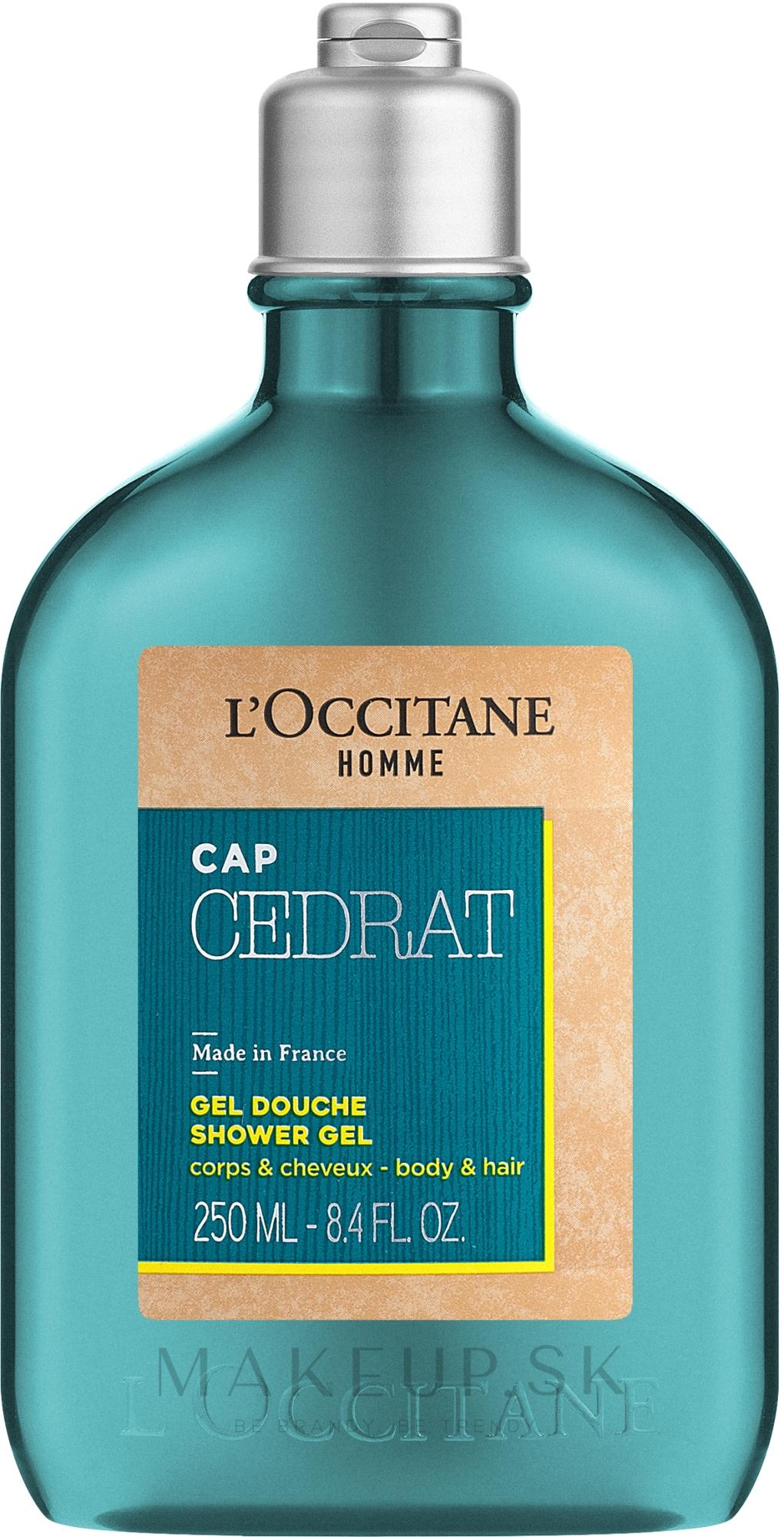 L'Occitane L'Homme Cologne Cedrat - Sprchový gél — Obrázky 250 ml