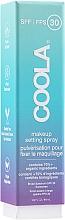 Voňavky, Parfémy, kozmetika Fixačný sprej na make-up - Coola Face Makeup Setting Spray SPF 30
