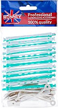 Voňavky, Parfémy, kozmetika Nátačky pre chladnú ondulaciu 6/91, bielo-zelené - Ronney