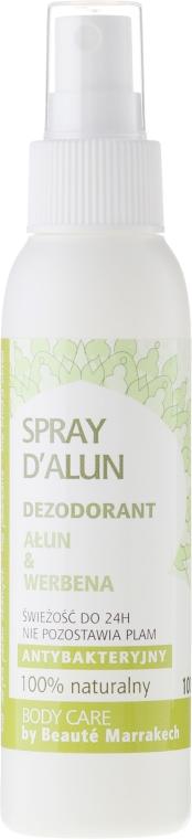 "Telový dezodorant ""Verbena"" - Beaute Marrakech Alum & Verbena"