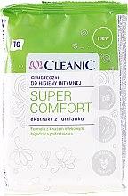 Voňavky, Parfémy, kozmetika Obrúsky na intímnu hygienu, 10 ks - Cleanic Super Comfort Wipes